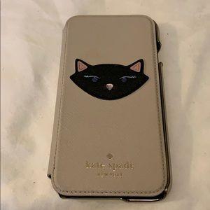 Kate Spade ♠️ iPhone 6S Folio Case. Leather.